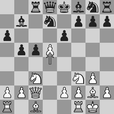 Aronian-Ivanchuk - R5, P1 dopo 11. d5