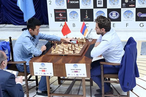 FIDE World CUP 2017 - Ding abbandona (Kublashvili)