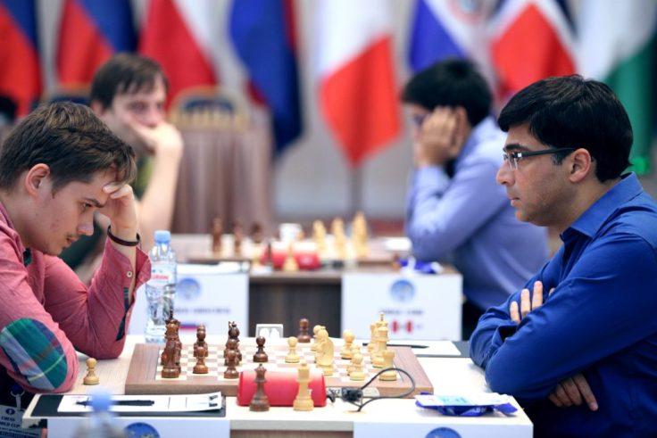 FIDE World CUP 2017 - R2 Anand-Kovalyov (Karlovich)