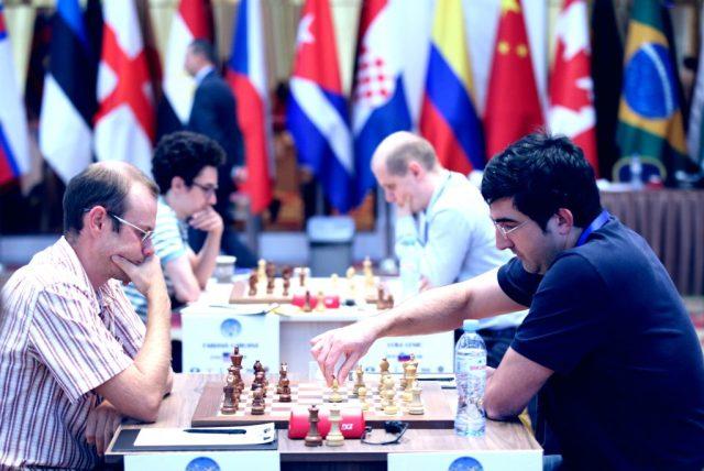 FIDE World CUP 2017 - R2 Caruana e Kramnik (Karlovich)