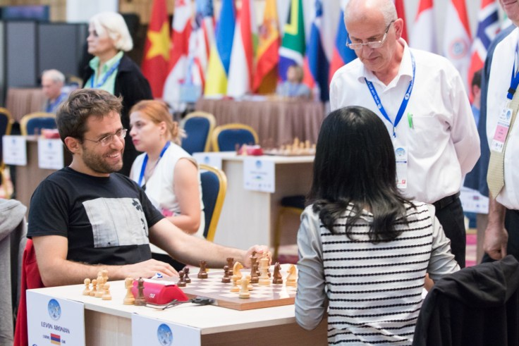 FIDE World CUP 2017 - R2 Hou Yifan-Aronian (Emelianova)