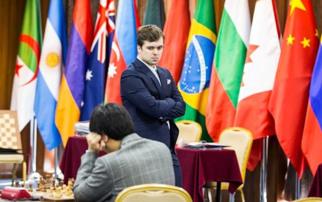 FIDE World CUP 2017 - R5 Fedoseev (Emelianova)