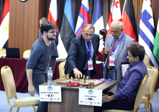 FIDE World CUP 2017 - R6 ARM Aronian wins (Karlovich)