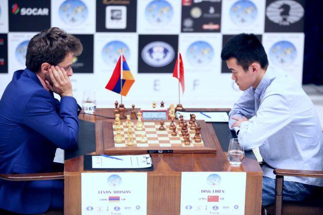 FIDE World CUP 2017 - R7 P3 Aronian-Ding Liren (Karlovich)