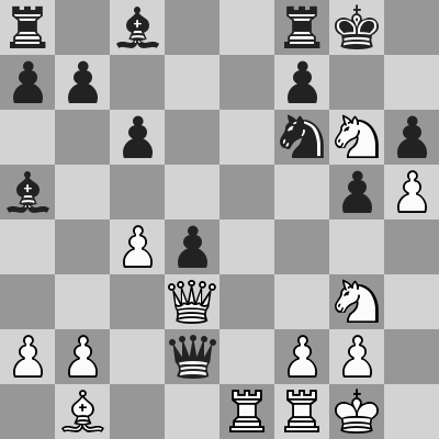 FIDE World CUP 2017 - R7 R1 Aronian-Ding Liren dopo 19. ... Dd2