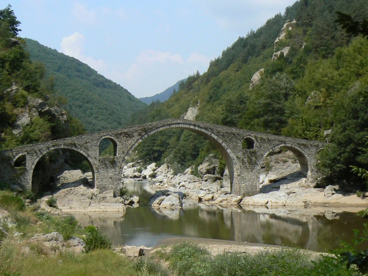 Grecia 1955_Devils-bridge-Ardino
