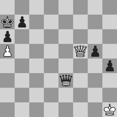 Pilnik-Reshevsky dopo 92. Df5