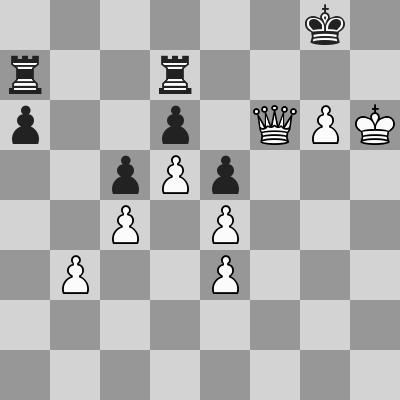 Shirov-Short dopo 57. ... Td7