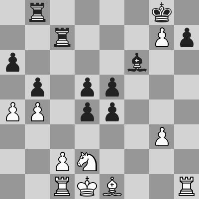 Grischuk-Vachier Lagrave (Chess360) dopo 25. ... exd5