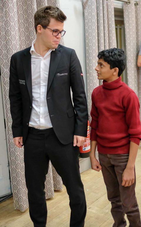 Magnus Carlsen, Nihal Sarin