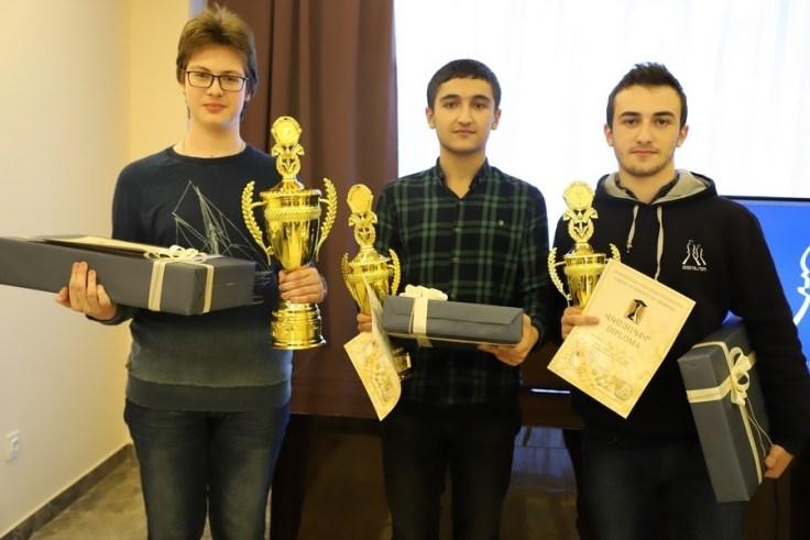 Premiazione a Jermuk