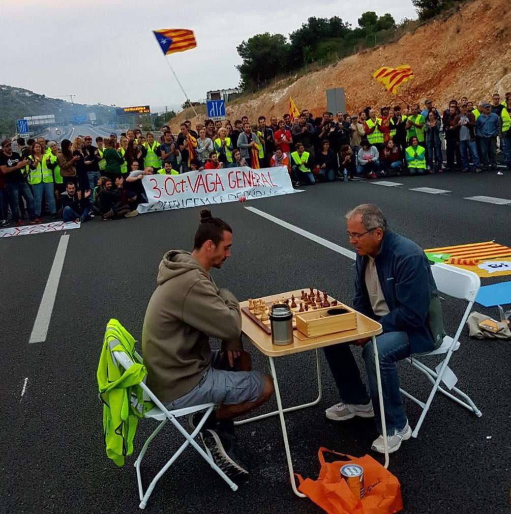 Spagnola contro Catalana