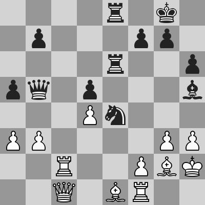 Tarjan-Kramnik dopo 30. exd4