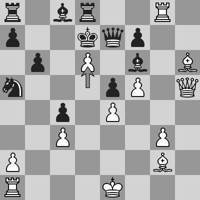 Aronian-Giri dopo 27. d6