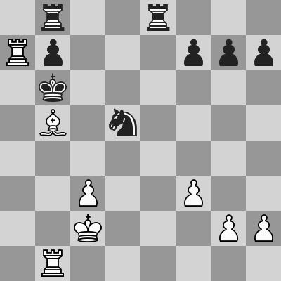 Carlsen-Inarkiev dopo 26. ... Rb6