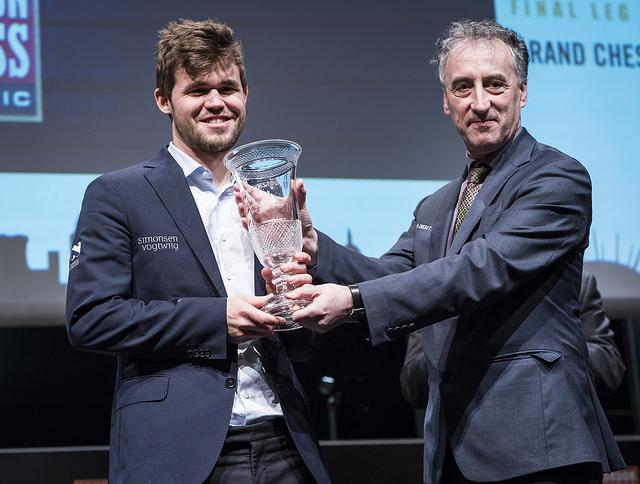 GCT2017 - Malcom Pein premia Carlsen