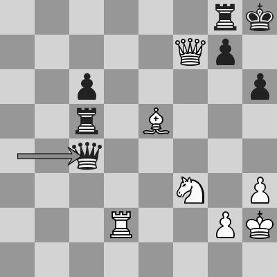 Anand-Caruana dopo 41. ... Dc4