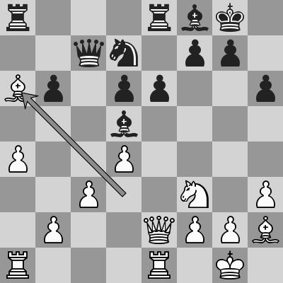 Carlsen-Akobian, Blitz 5° turno, dopo 18. Axa6