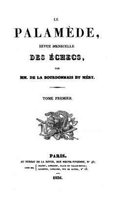 Le Palamède, 1836