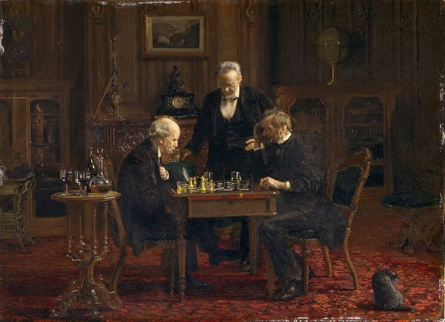 The_chess_players - Thomas_eakins