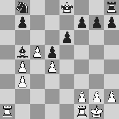 Sandipan-Ivanchuk, R6, dopo 18. ... Ab5