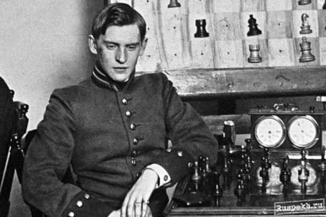 Alekhine (particolare, da giovane)
