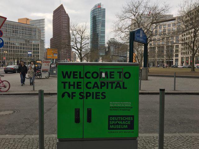Berlino, la città delle spie