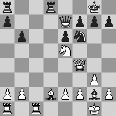Candidates 2018 - R9, Caruana-Ding Liren dopo 17. Df4