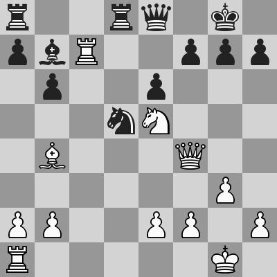 Candidates 2018 - R9, Caruana-Ding Liren dopo 19. ... Cd5