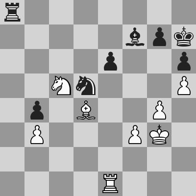 Candidates 2018 - R9, Caruana-Ding Liren dopo 49. Te1