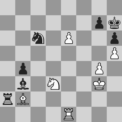 Candidates 2018 - R9, Caruana-Ding Liren dopo 54. e6