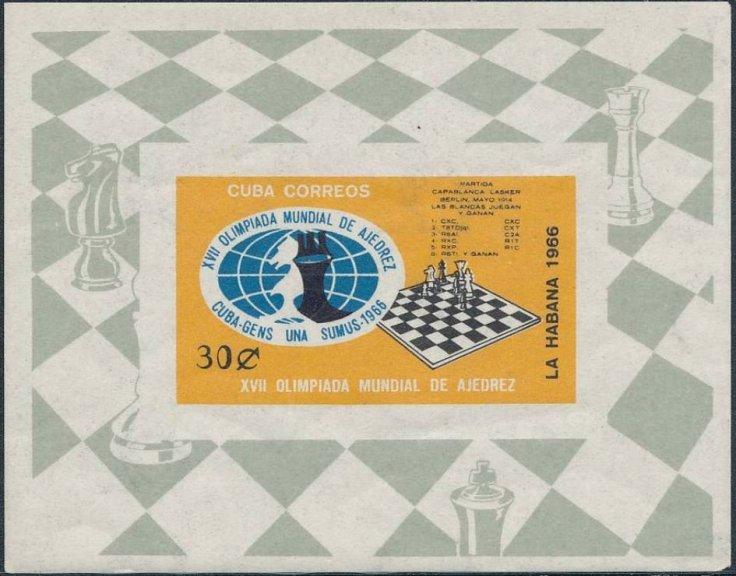 Cuba 1966_30c