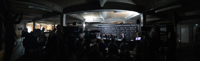 Candidates 2018 - Press Conference (wide)