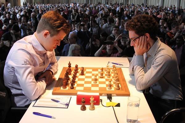 GRENKE18 - Caruana-Carlsen