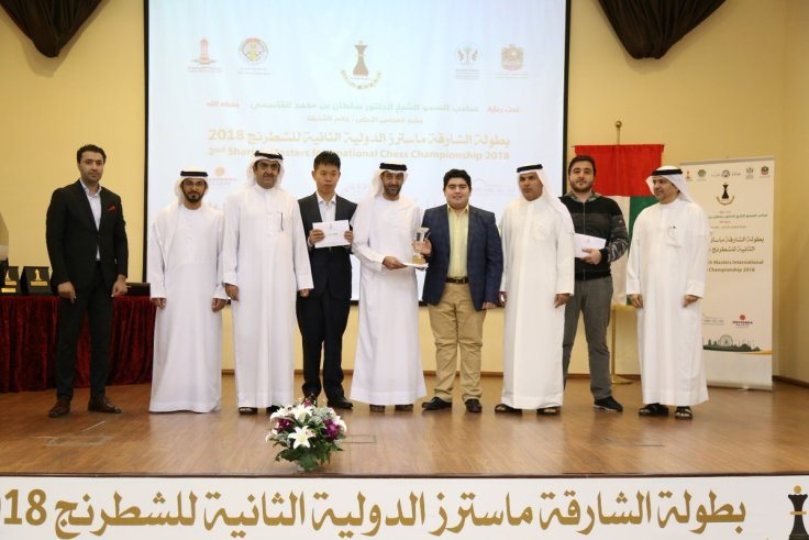 Sharjah18 - Podio