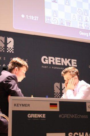 Kaymer vs Carlsen R1