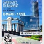 Tutto pronto per il Torneo dei Candidati 2020