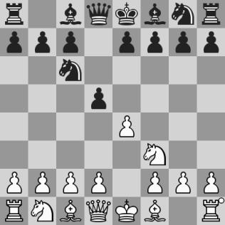 Nimzovich-Scandinava (Ding Liren-Carlsen)