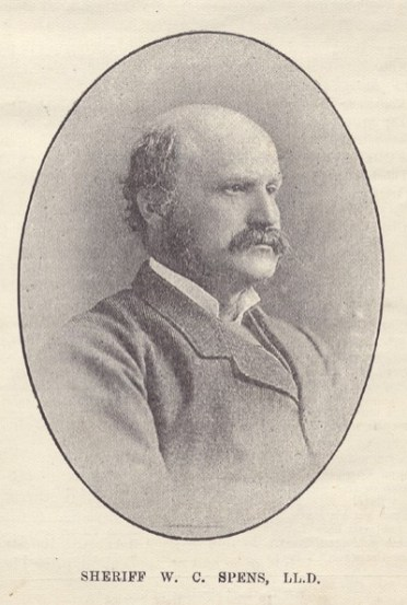 Sheriff Walter Cook Spens (foto da https://www.chessscotland.com/documents/history/biographies/spens.htm)