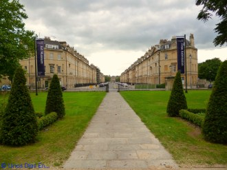 View of Great Pulteney St from the Houlburne Museum