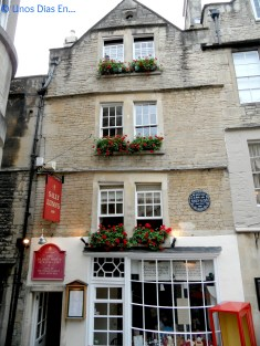 Sally Lunn' House, the oldest house in Bath