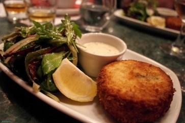 Fish cake at Whisky bar and restaurant