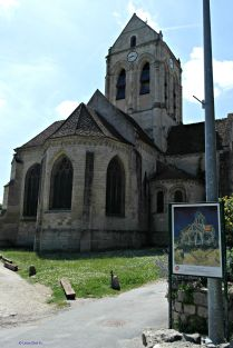The Church of Auver sur Oise made famous by the painter.