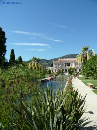 View of the Villa from the Gardens