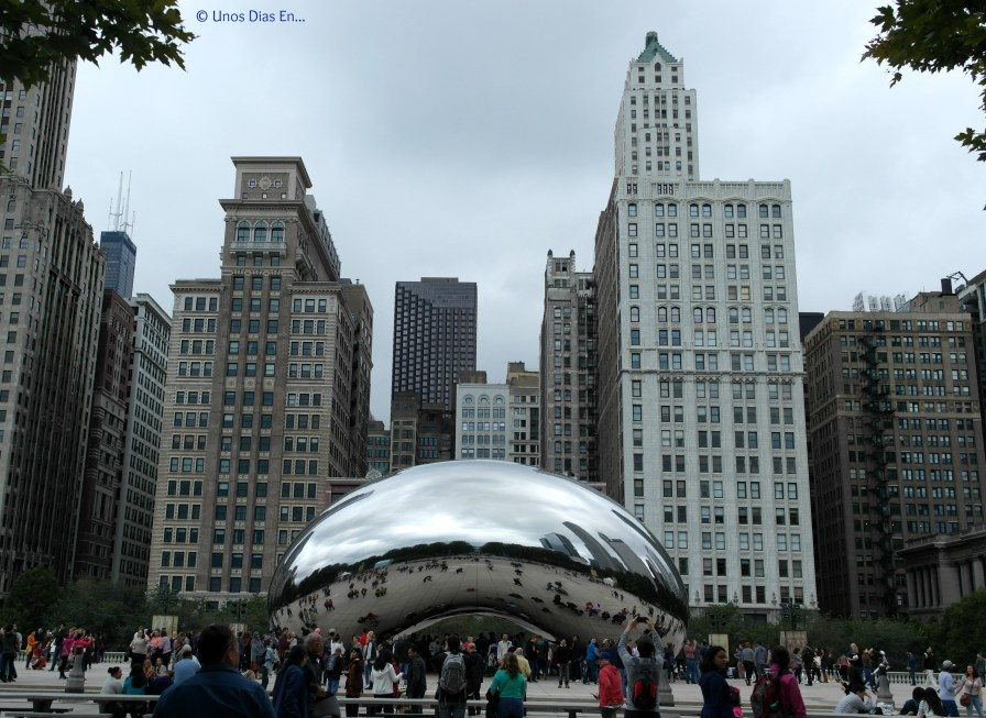 """Cloud Gate, better known as """"The Bean"""""""