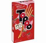 ロッテ トッポ「恋味いちご」カロリーは?本数は?販売期間はいつまで?