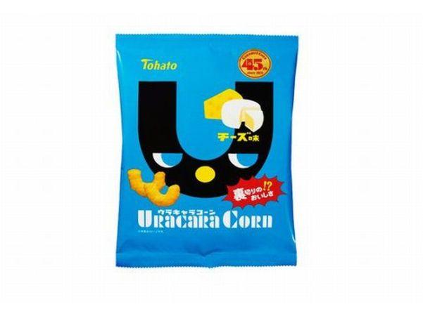 チーズ味のキャラメルコーン「ウラキャラコーン」カロリーは?味はカール?