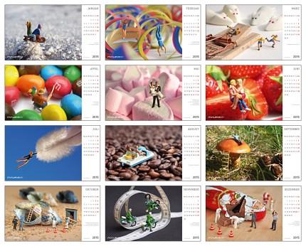 Postkartenkalender 2015