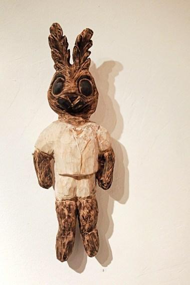 Holzskulptur »Gregor« Linde, 40 cm, 2017