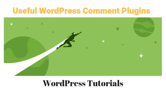 useful wordpress comment plugins